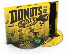 Donots: Lauter als Bomben (Limited-Deluxe-Edition), CD