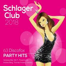 Schlager Club 2018 (63 Discofox Party Hits), 3 CDs