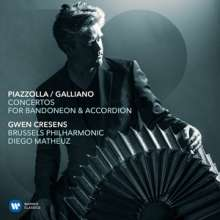 "Richard Galliano (geb. 1950): Akkordeonkonzert ""Opale Concerto"", CD"