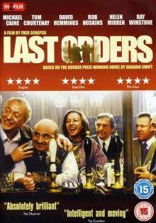 Last Orders (2001) (UK Import), DVD