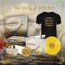 Rival Sons: Hollow Bones (Limited Edition Box Set) (Yellow Vinyl) (T-Shirt Gr. XL), 3 LPs