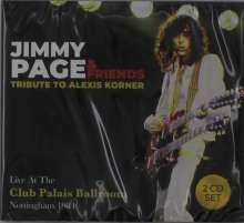 Jimmy Page: Tribute To Alexis Corner: Live At The Club Palais Ballroom, Nottingham 1984, 2 CDs