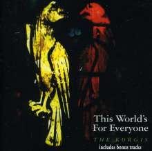 The Korgis: This World's For Everyone, CD