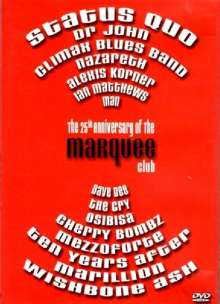 Marquee Club 25th Anniversary, DVD