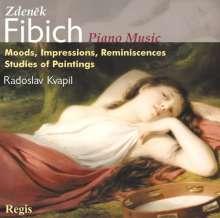 Zdenek Fibich (1850-1900): Klavierwerke, CD