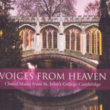 St.John's College Choir Cambridge - Voices From Heaven, CD