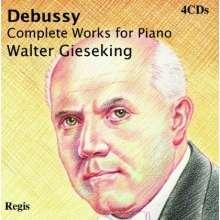 Claude Debussy (1862-1918): Sämtliche Klavierwerke, 4 CDs