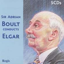 Edward Elgar (1857-1934): Sir Adrian Boult conducts Elgar, 5 CDs