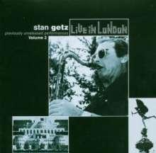 Stan Getz (1927-1991): Live In London Vol. 2, CD