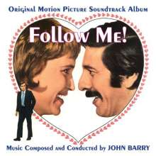 John Barry (1933-2011): Filmmusik: Follow Me! (O.S.T.) (Limited Edition) (Clear Vinyl), LP