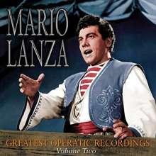 Mario Lanza - Greatest Operatic Recordings Vol.2, CD