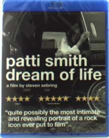 Patti Smith: Dream Of Life, Blu-ray Disc