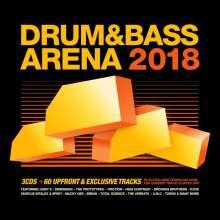 Drum & Bass Arena 2018, 3 CDs