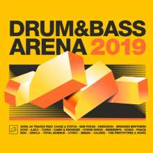 Drum & Bass Arena 2019, 3 CDs