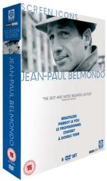 Jean-Paul Belmondo - The Screen Icons Collection (UK IMport), 5 DVDs