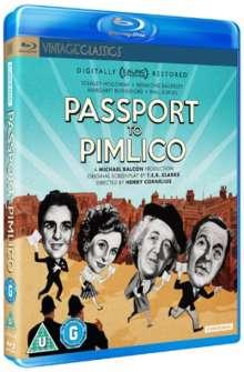 Passport To Pimlico (Blu-ray) (UK Import), Blu-ray Disc