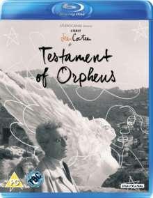 Le Testament d'Orphée (1960) (Blu-ray) (UK Import mit deutschen Untertiteln), Blu-ray Disc