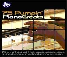 75 Pumpin' Piano Greats, 3 CDs