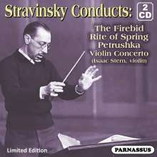 Igor Strawinsky (1882-1971): Strawinsky conducts Strawinsky, 2 CDs