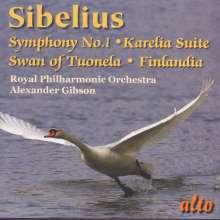 Jean Sibelius (1865-1957): Symphonie Nr.1, CD
