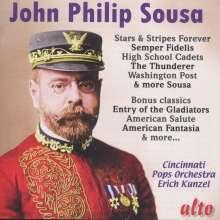 John Philip Sousa (1854-1932): Märsche & Walzer, CD