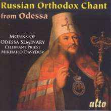Russian Orthodox Chant from Odessa, CD
