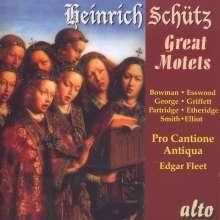 Heinrich Schütz (1585-1672): Motetten, CD