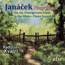 Leos Janacek (1854-1928): Auf verwachsenem Pfade für Klavier, CD