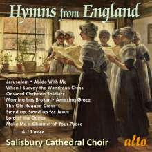 Salisbury Cathedral Choir - Hymns from England, CD