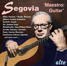Andres Segovia - Maestro: Guitar, CD