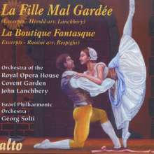 Louis Joseph Ferdinand Herold (1791-1833): La Fille mal gardee-Ballettmusik (Ausz.), CD