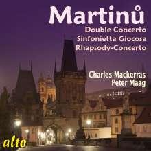 Bohuslav Martinu (1890-1959): Sinfonietta Giocosa für Klavier & kleines Orchester, CD