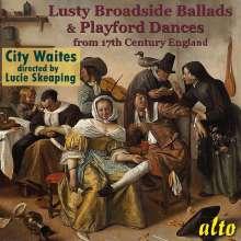 Lusty Broadside Ballads & Playford Dances from 17th Century England, CD