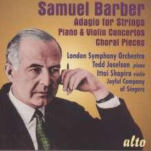 Samuel Barber (1910-1981): Klavierkonzert op.38, CD