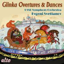 Michael Glinka (1804-1857): Orchesterwerke, CD