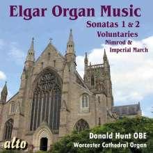 Edward Elgar (1857-1934): Orgelsonaten Nr.1 & 2 (op.28 & 87a), CD