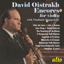 David Oistrach - Encores, CD