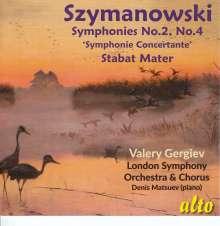 Karol Szymanowski (1882-1937): Symphonien Nr.2 & 4, CD