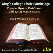 King's College Choir Cambridge - Popular Hymns, Part-Songs and Easter Matins Music, CD