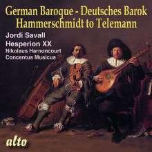 Deutsches Barock - Hammerschmidt & Telemann, CD