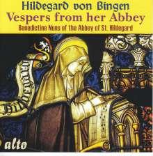 Hildegard von Bingen (1098-1179): Vespers from the Abbey of St.Hildegard, CD