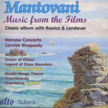 Mantovani - Music from the Films, CD