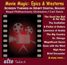 Royal Philharmonic Orchestra - Movie Magic (Epics & Westerns), CD
