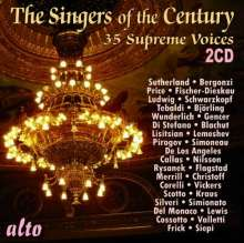 Singers of the Century, 2 CDs