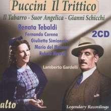 Giacomo Puccini (1858-1924): Il Trittico, 2 CDs