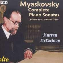 Nikolai Miaskowsky (1881-1950): Klaviersonaten Nr.1-9, 3 CDs