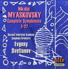 Nikolai Miaskowsky (1881-1950): Symphonien Nr.1-27, 14 CDs