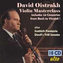 David Oistrach - Violin Masterclass, 10 CDs