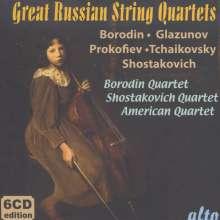 Great Russian String Quartets, 6 CDs