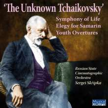 Russian State Cinematographic Orchestra - The Unknown Tchaikovsky, CD